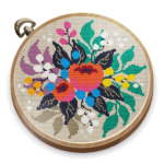 Cross Stitch Club Color by Numbers with a Hoop 1.4.32