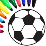 Football coloring book game 15.9.0