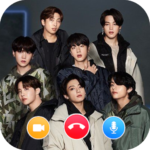 BTS Video Call and live Chat BTS Messenger Mod Unlimited Money