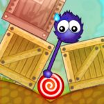 Catch the Candy Remastered Red Lollipop Puzzle 1.0.41