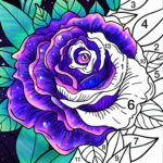 Coloring Book – Color by Number Paint by Number Mod Unlimited Money