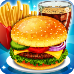 Fast Food Cooking and Restaurant Game Mod Unlimited Money