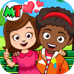 My Town Best Friends House games for kids Mod Unlimited Money