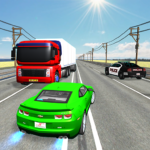 Extreme Highway Traffic Car Race Mod Unlimited Money