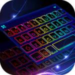Led Neon Color Keyboard Theme Mod Unlimited Money