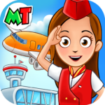 My Town Airport. Free Airplane Games for kids 1.03 Mod Unlimited Money