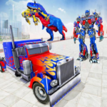 Police Truck Robot Game Dino Robot Car Games 3d 1.2.8 Mod Unlimited Money
