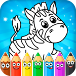 Coloring pages for children animals Mod Unlimited Money