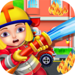 Firefighters Fire Rescue Kids – Fun Games for Kids Mod Unlimited Money