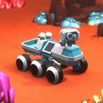 Space Rover Idle planet mining tycoon simulator Mod Unlimited Money