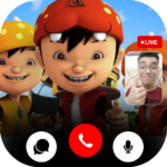 Call From Boboiboy Video call and Chat Mod Unlimited Money