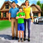 Happy Family Life Dad Mom – Virtual Housewife Care Mod Unlimited Money